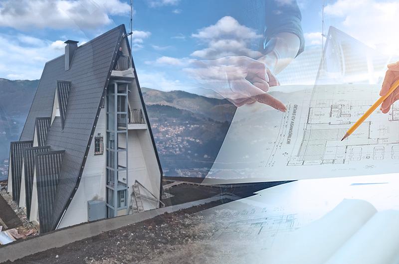 hidrolik villa asansörü proje